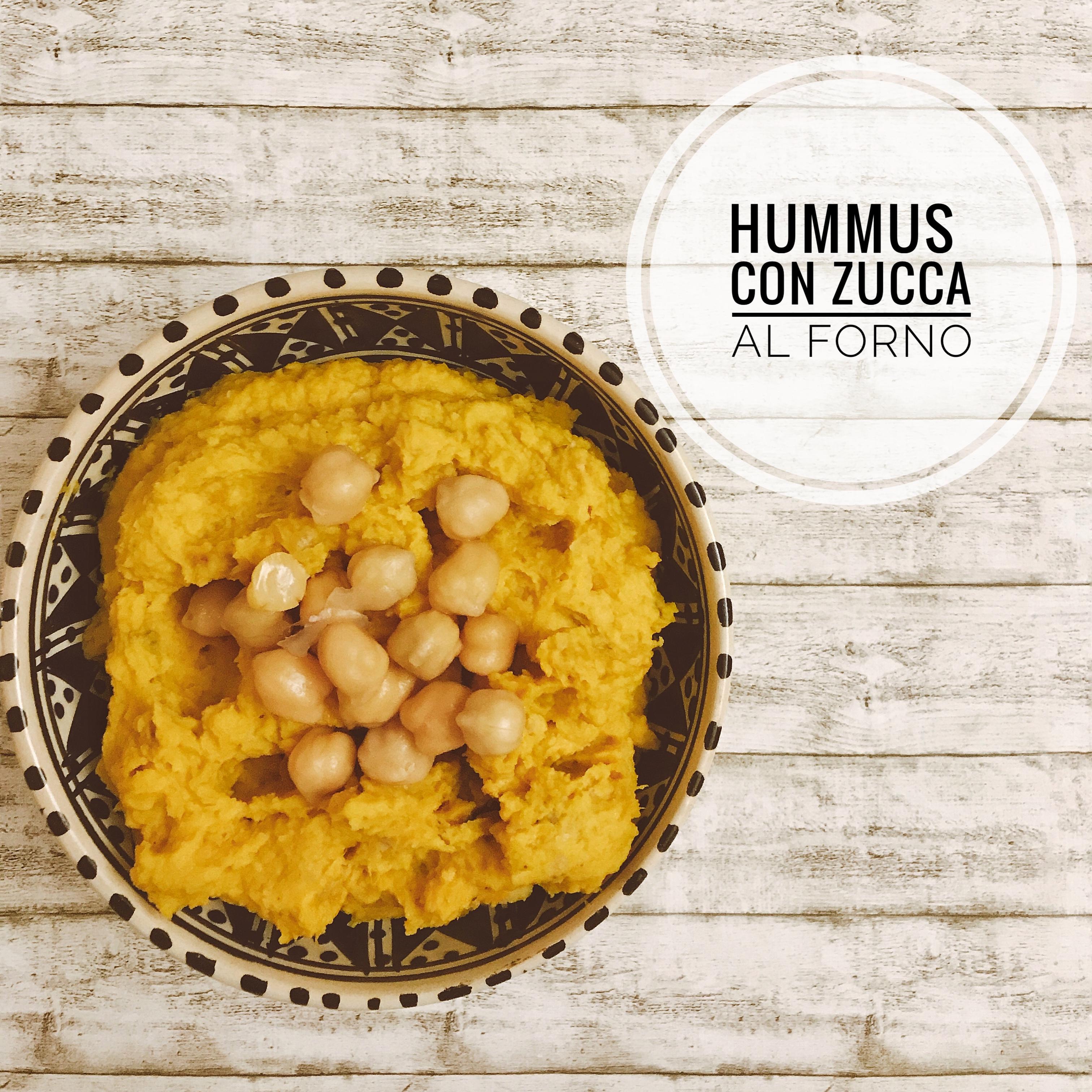 hummus zucca e ceci
